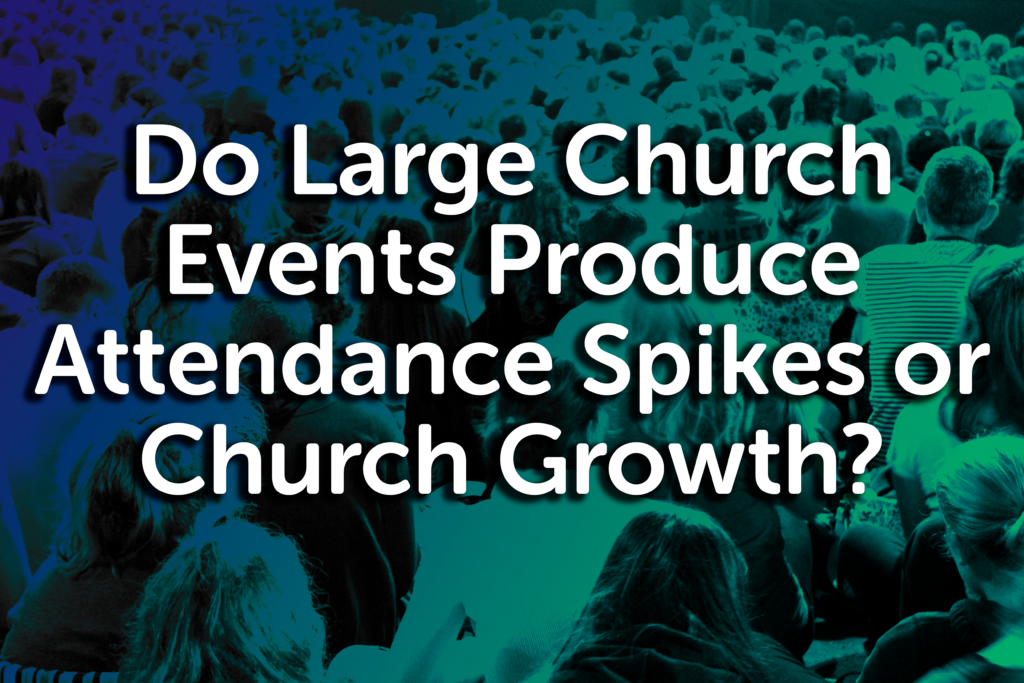 large church events
